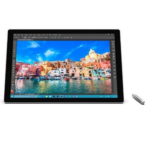 "Microsoft Surface Pro 4 Tablet PC - 12.3"" - PixelSense - Wireless LAN - Intel Core i7 - Silver"
