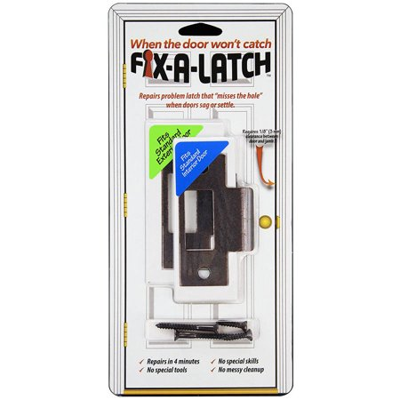 Fix-A-Latch Mixed Door Latch with Bronze Finish, Pack of 2