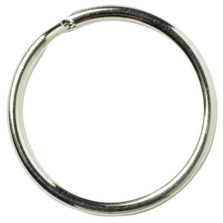 Cousin Metal Split Silver Ring, 33 (Plastic Craft Rings)