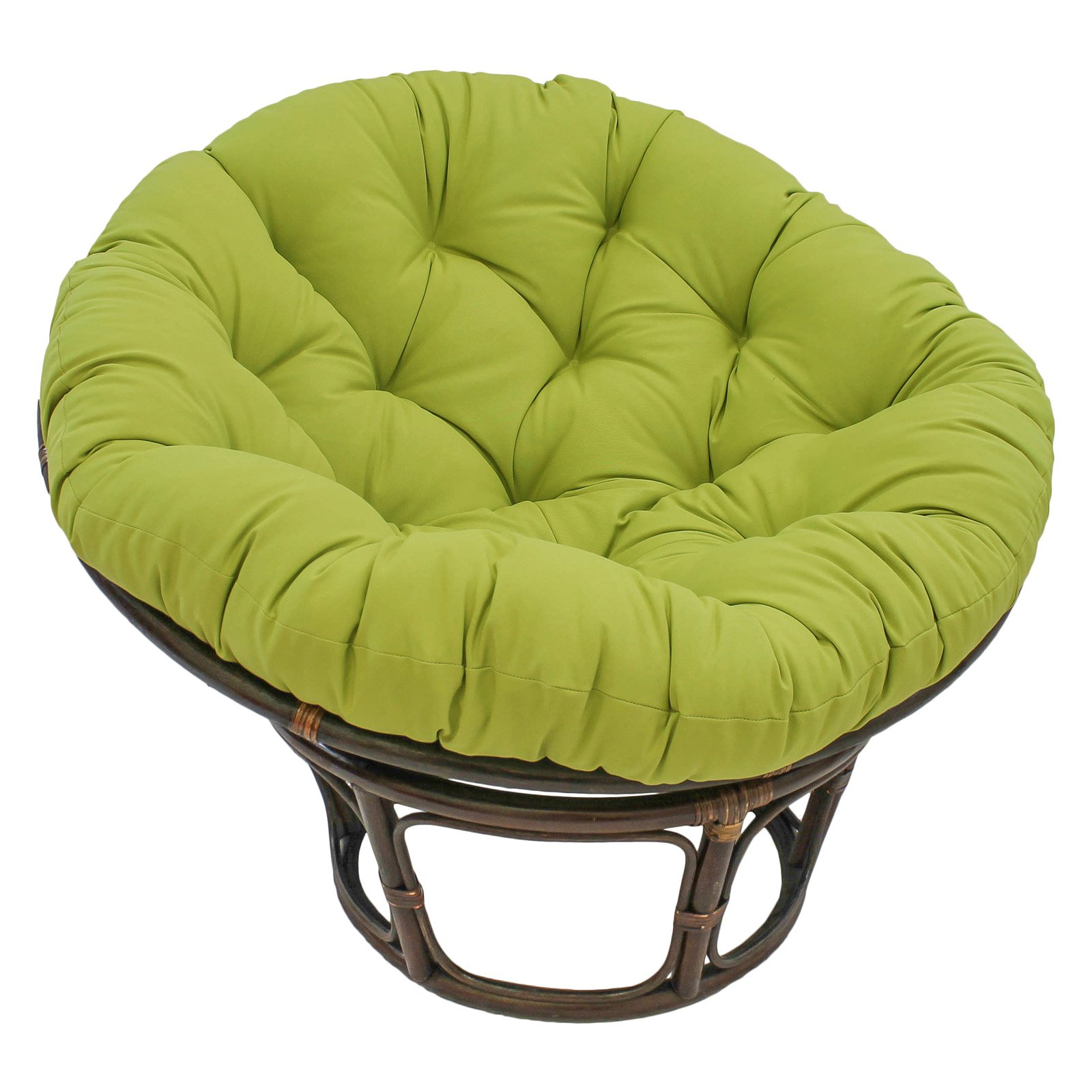 Blazing Needles Microsuede Papasan Cushion