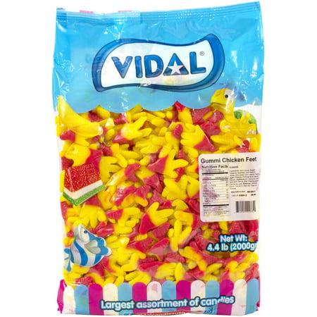 Vidal Gummi Chicken Feet, 4.4 lbs