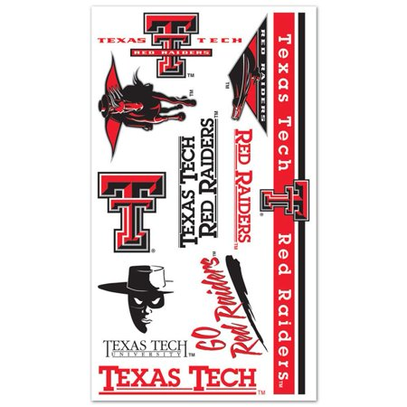 Texas Tech Red Raiders Temporary Tattoos](Raiders Tattoos)