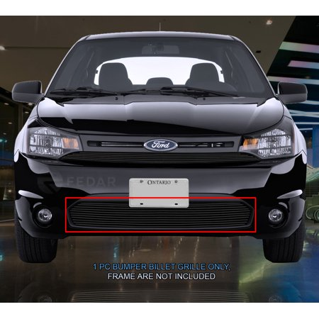 Fedar Lower Bumper Billet Grille For 2008-2011 Ford Focus