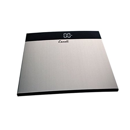 (Escali S200 Extra Large Stainless Steel Bathroom Scale, 440 Lb / 200 Kg)