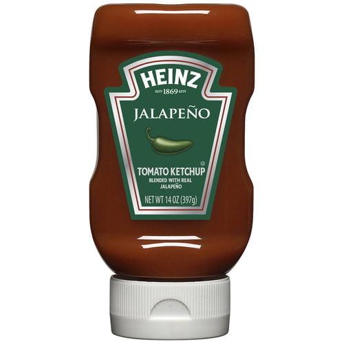 Heinz Jalapeno Tomato Ketchup, 14 oz