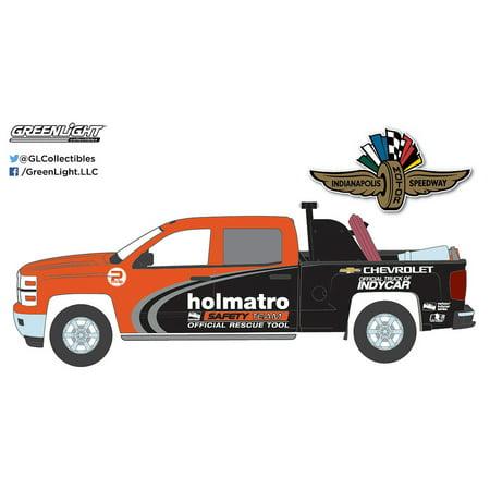 Greenlight 1 64 Indycar Chevrolet Silverado Holmatro Safety Team W  Equipment