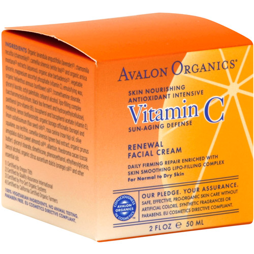 Avalon Organics Vitamin C Facial Cream 2 Fl Oz