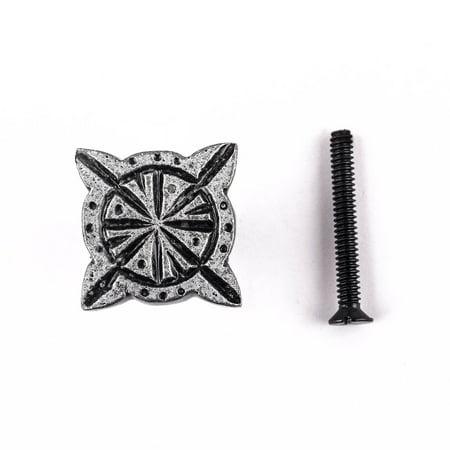 Iron Cabinet Knob Pewter Finish Target Design Cabinet Hardware