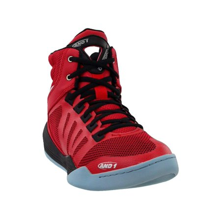 And1 Mens Overdrive Hight Top Lace Up Basketball Shoes, Red, Size 11.5 (Shoes Basketball Men)