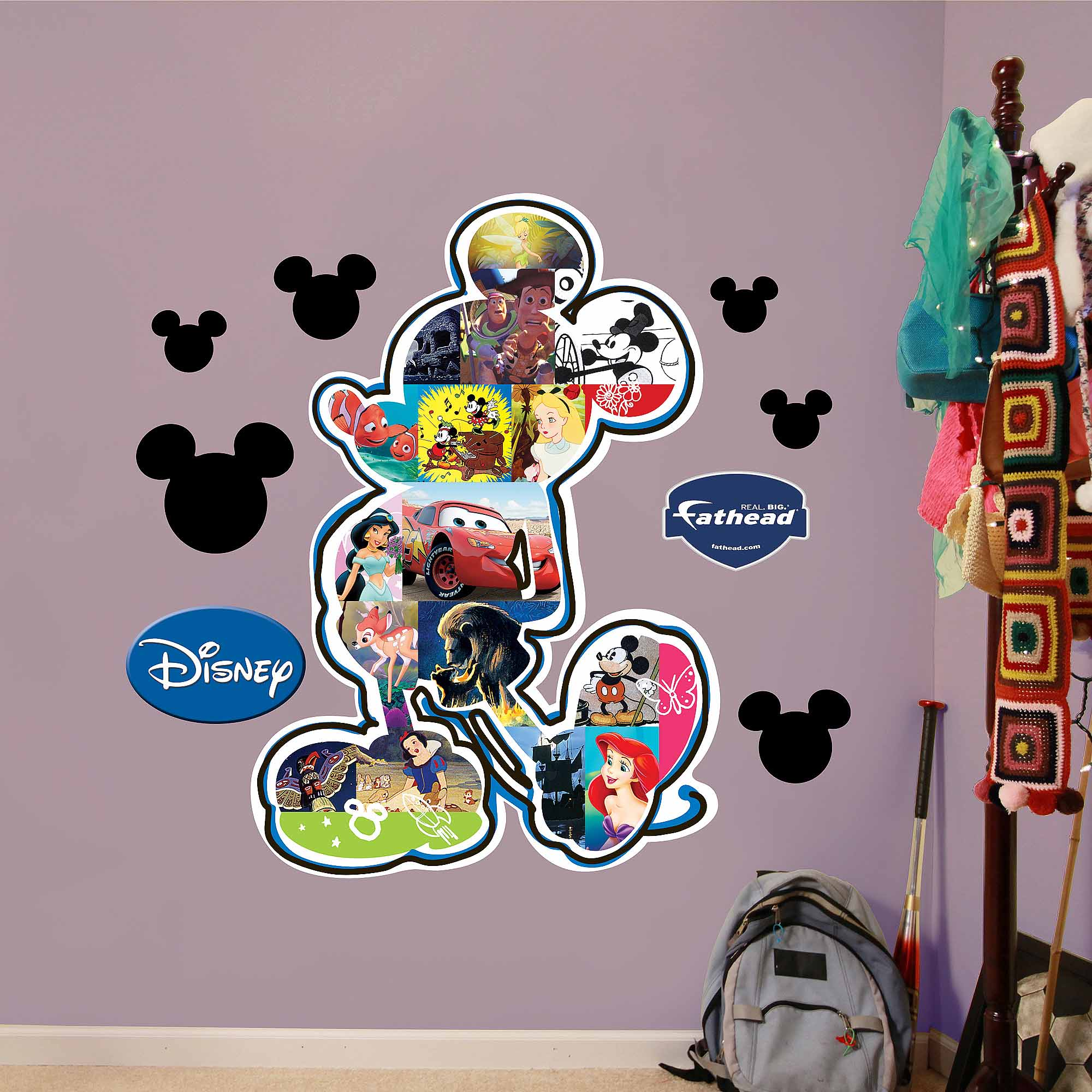 Mickey Mouse Movie Montage Fathead