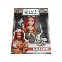 "4"" METALS WWE: Sasha Banks (M207)"