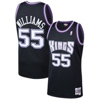 Jason Williams Sacramento Kings Mitchell & Ness 2000-01 Hardwood Classics Swingman Player Jersey - Black