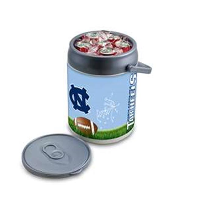 Picnic Time 690-00-000-415-0 University of North Carolina Tar Heels PT Sports Can Cooler, Silver & Gray