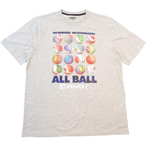 And 1 Big Men's All Ball International Tee