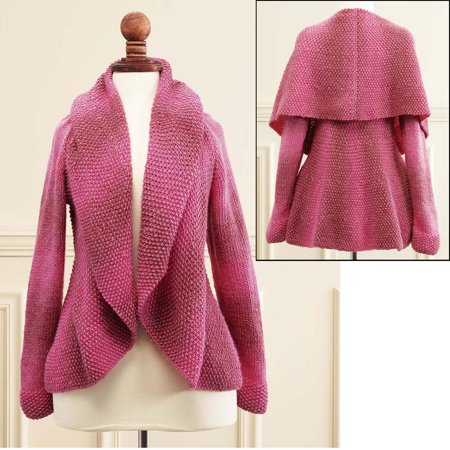 Flameflower Cardigan Knit Pattern ()