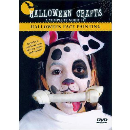 Complete Guide To Halloween Face Painting (Full - Halloween Doll Face Painting Ideas