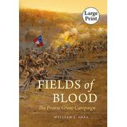 Civil War America: Fields of Blood (Paperback)(Large Print)