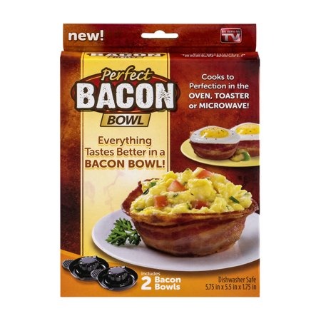 As Seen On Tv Perfect Bacon Bowl 2 0 Ct