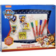 """Paw Patrol Magnetic Dry Erase White Board: Mini Magnetic Dry Erase Board for Kids, Educational with 4 Dry Erase Markers, 5 Magnets, and a 9.5"""" x 12.75"""" Magnetic Drawing Board, for Boys & Girls Ages 3+"""