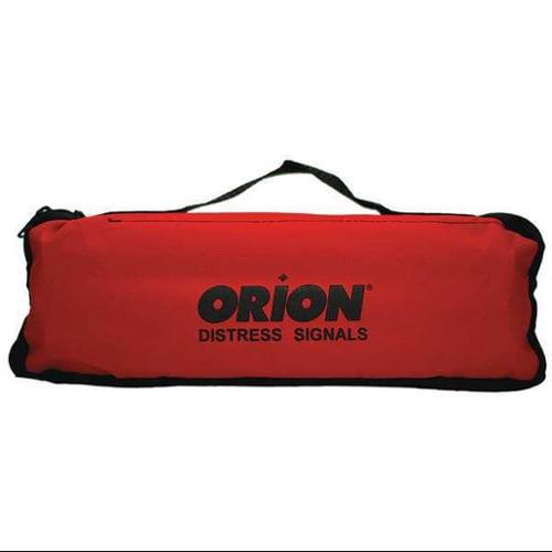 ORION 95-07-45G Flare Roadside Kit,2-1/2 in.L,20min.,Red G2089109