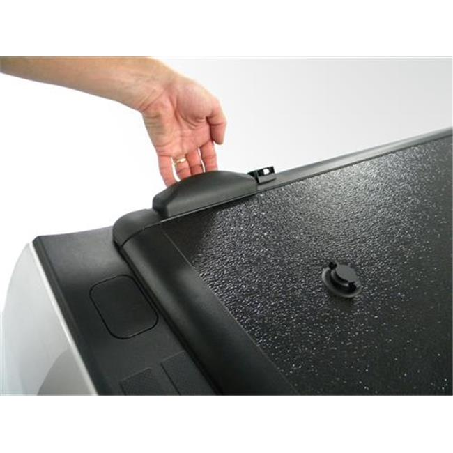 EXTANG 62645 Encore Tri-Fold Tonneau Cover Lockable With Bolt One-Key, Black