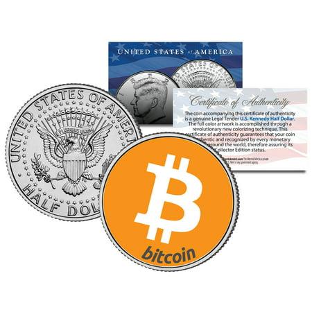 War Commemorative Half Dollars - BITCOIN Collectible JFK Kennedy Half Dollar US Commemorative Collectors Coin Art