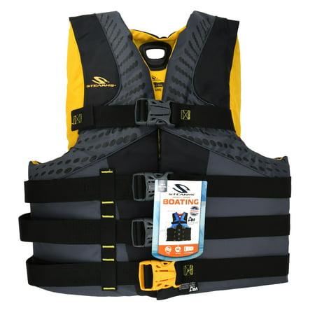 Coleman Stearns Pfd 5974 Mens Infinity 2Xl/3Xl Gold C004 (Stearns Inflatable Pfd)