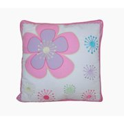 Cozy Line Home Fashion Blossom Floral 100pct Cotton Throw Pillow