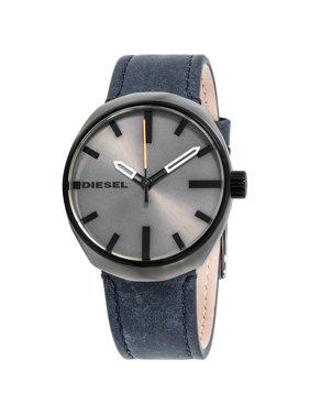 Diesel Klutch Black Dial Leather Strap Men's Watch DZ1832