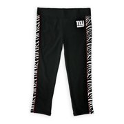 Justice Girls NY Giants Yoga Pants, black, 20