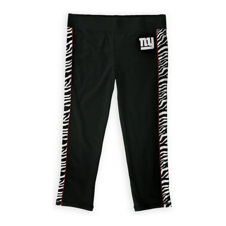 Justice Girls NY Giants Yoga Pants, Black, 20