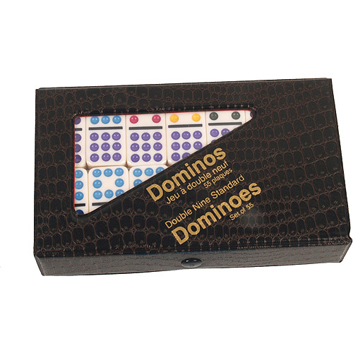 Classic Games Collection Double 9 Dominoes Set