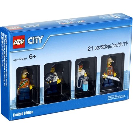 - LEGO LEGO Bricktober City Minifigure Collection 4-Pack