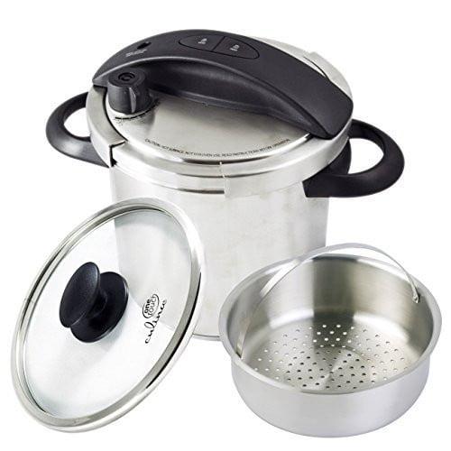 CUL Distributors Culina 6-Quart One-Touch Pressure Cooker