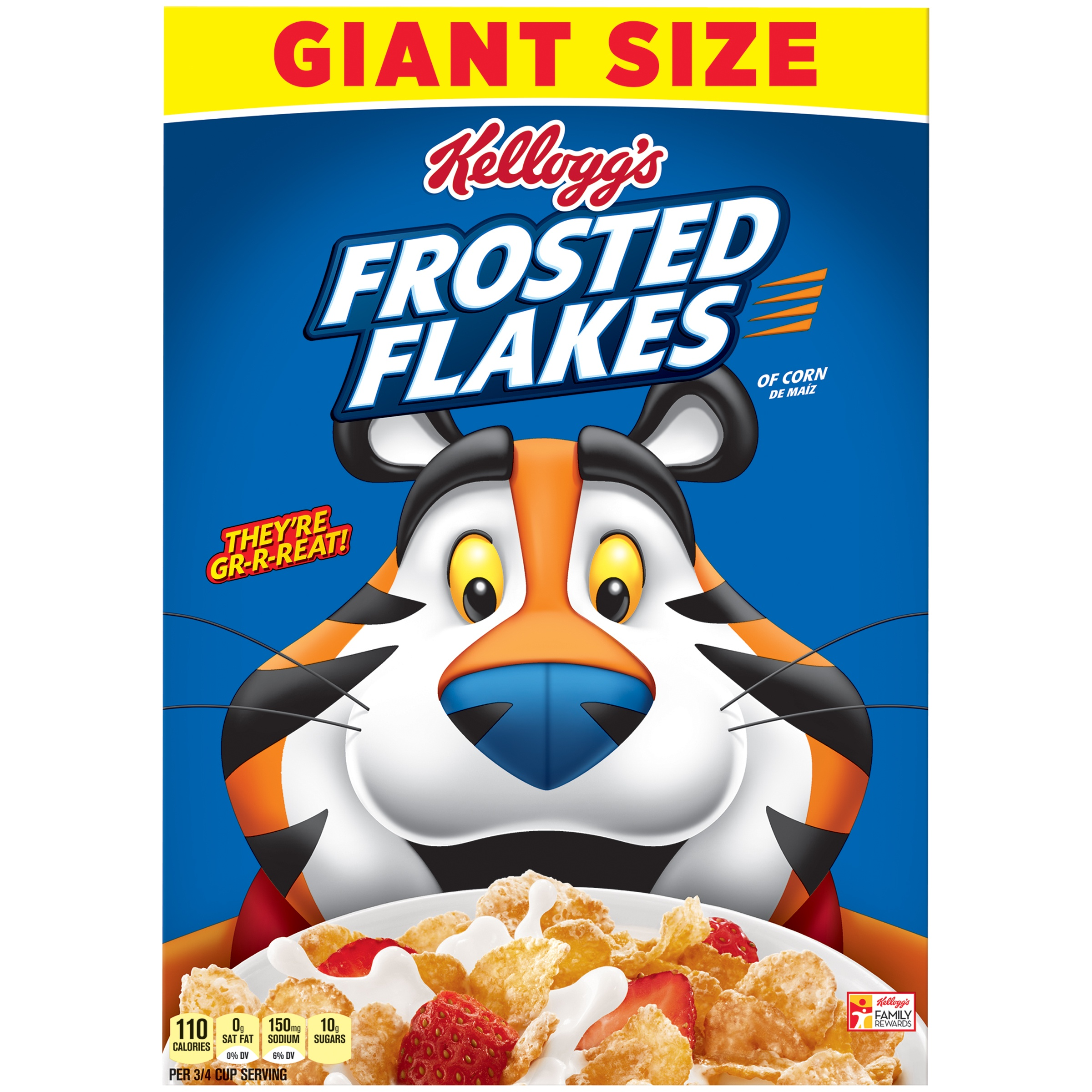 Kelloggs frosted flakes breakfast cereal original 33 oz walmart ccuart Gallery