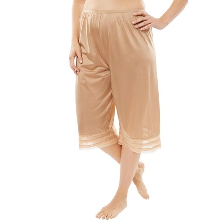 Comfort Choice Plus Size Snip-to-fit Culotte