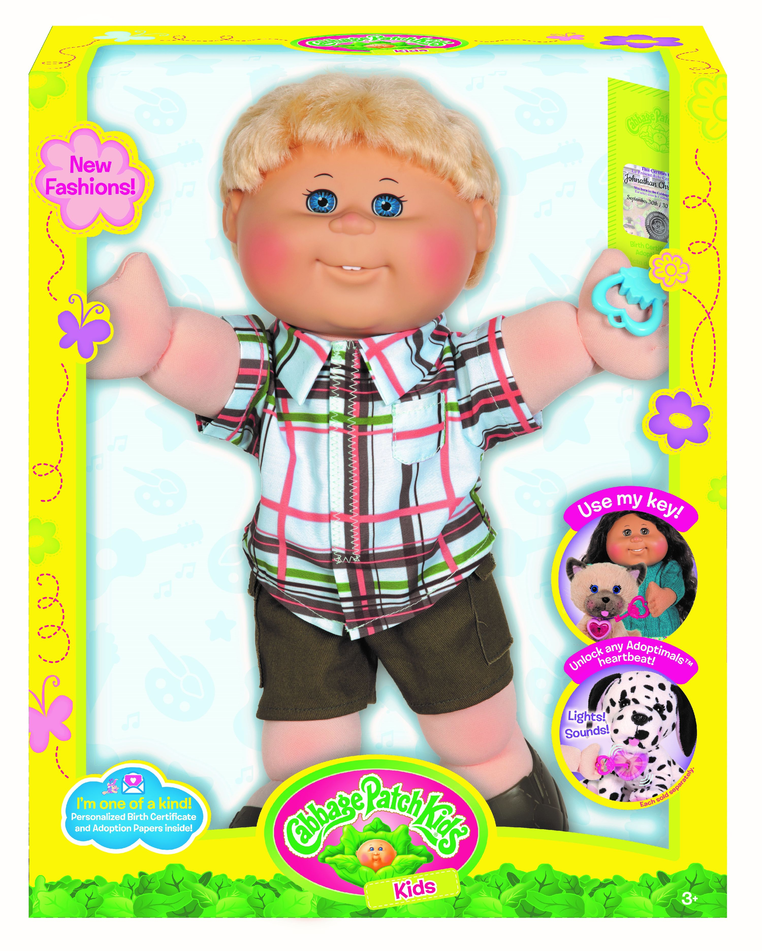 """Cabbage Patch Kids 14"""" Blonde Boy Blue Eyes by WICKED COOL (HK) LIMITED"""