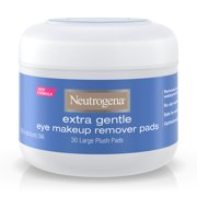 Neutrogena Extra Gentle Eye Makeup Remover Pads, Sensitive Skin, 30 ct