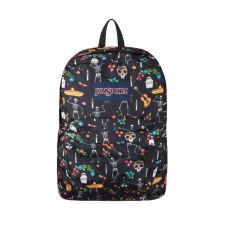 School Backpack Bookbag Bag Superbreak Day Of The Dead New