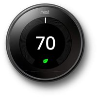 Nest Learning Thermostat - 3rd Generation - Mirror Black