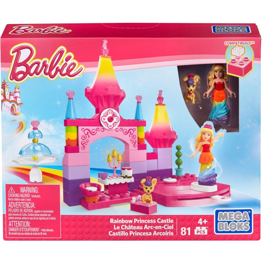 Mega Bloks Barbie Rainbow Princess Castle