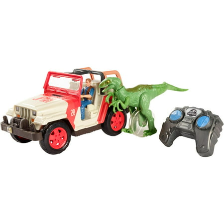 Jurassic World R C Vehicle Raptor Attack Rc Walmart Com