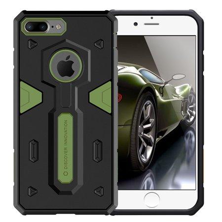 iPhone 7 Plus Case, Nillkin [Defender II] - Green [Drop Protection][Anti-Scratch][Armor Hybrid][Shockproof][Heavy Duty][Slim Fit][Dust Plug] For Apple iPhone 7 Plus -