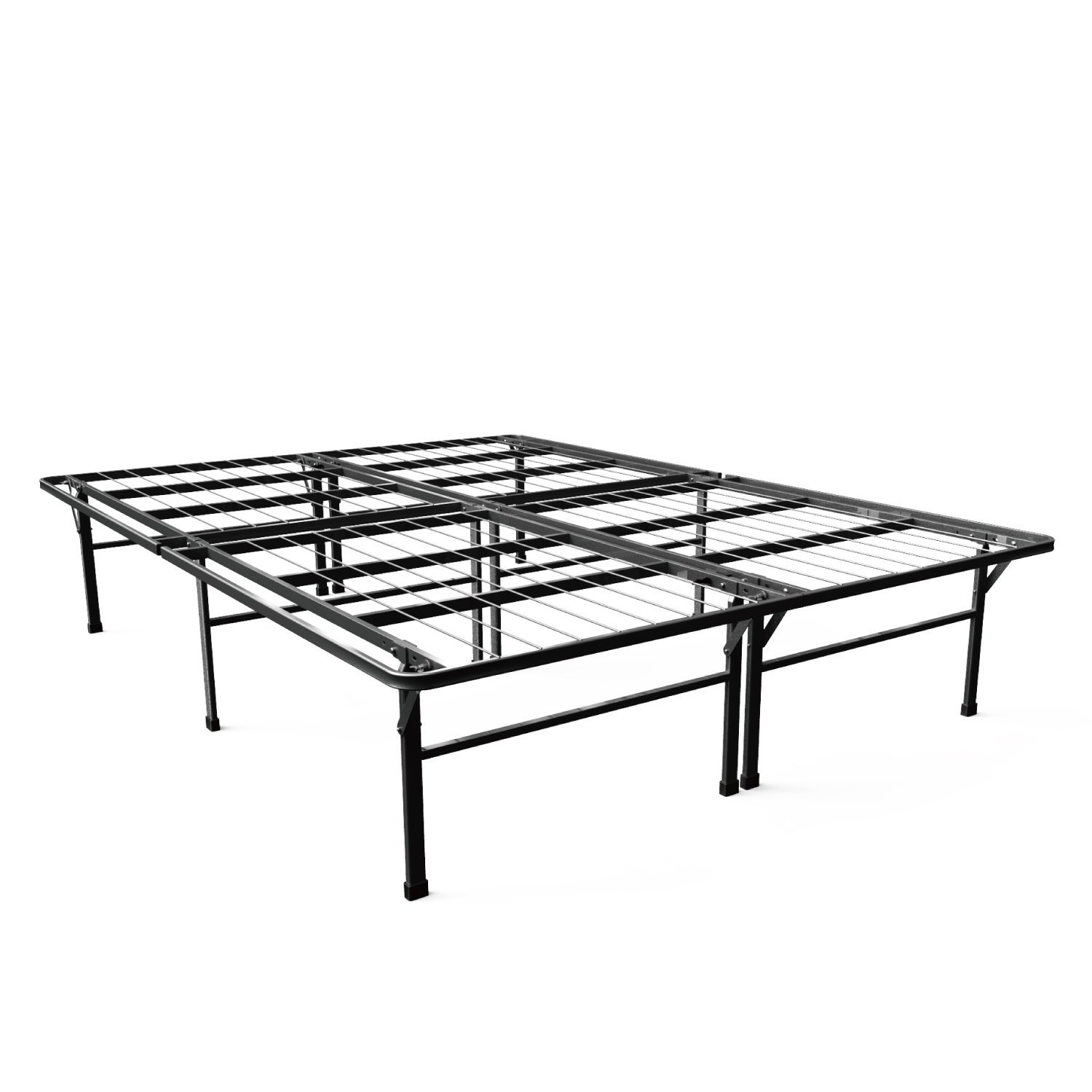 Zinus 16 Inch SmartBase Deluxe Mattress Foundation/ 2 Extra Inches ...