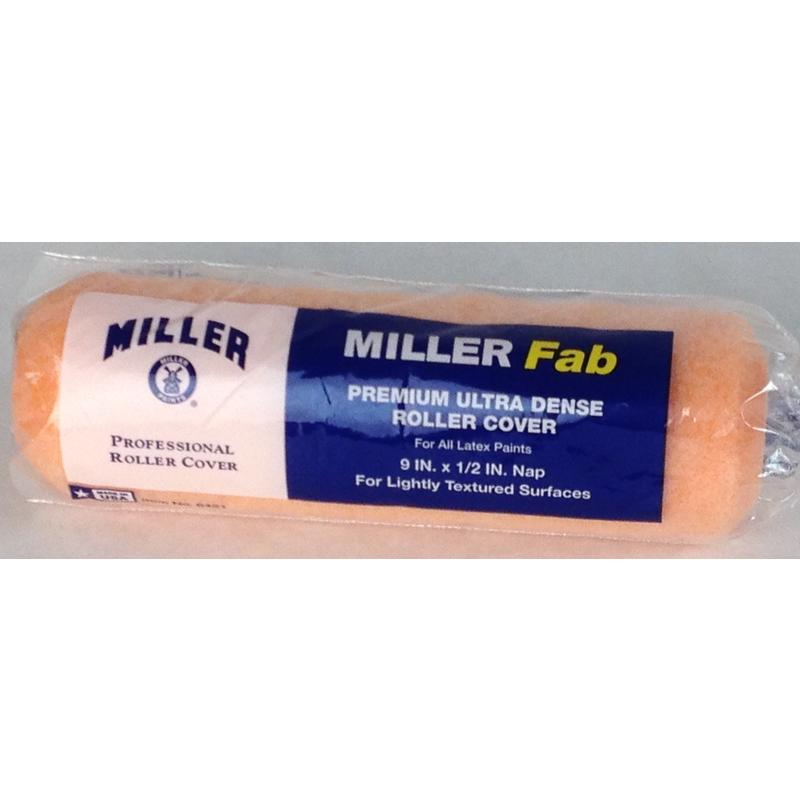 """Professional 1/2"""" Nap X 9"""" Roller Cover Miller Paint Sundries 6421 014958064212"""