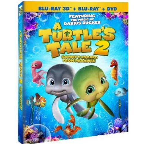 A Turtle's Tale 2: Sammy's Escape From Paradise (Blu-ray   DVD)