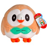 Wicked Cool Pokemon Plush 8 inch Plush Doll- Rowlet
