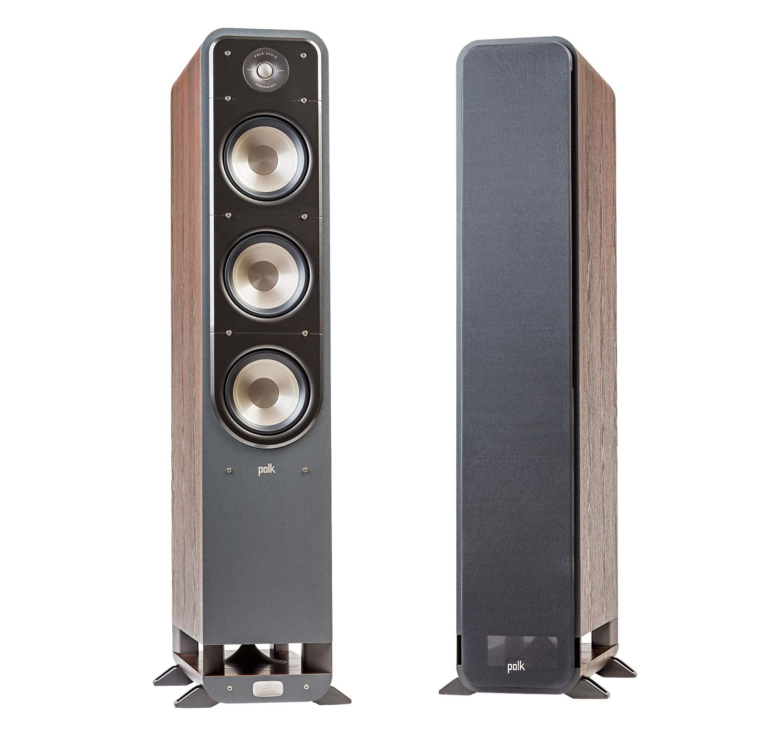 Polk Audio SIGNATURE S60 WALNUT (Pair) Tower Speakers by Polk Audio