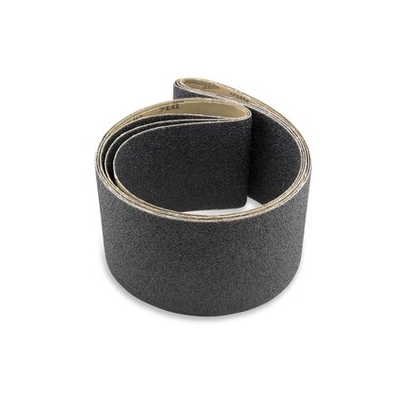 4 X 36 Inch Silicon Carbide Sanding Belts, 3 Pack
