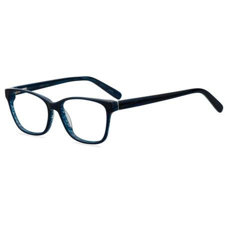 Blue Designer Eyeglass Frames : Designer Looks for Less Womens Prescription Glasses ...